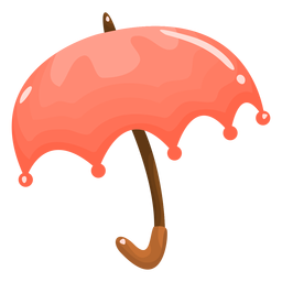Paraguas brillante