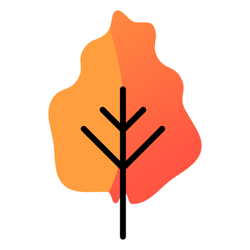 Yellow tree autumn icon Transparent PNG