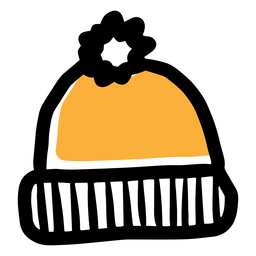 Ícone de chapéu amarelo