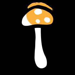 Cogumelo ícone amarelo