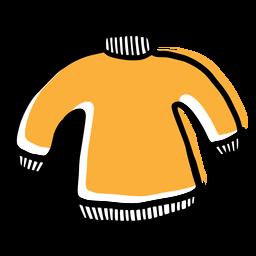Icono de suéter amarillo