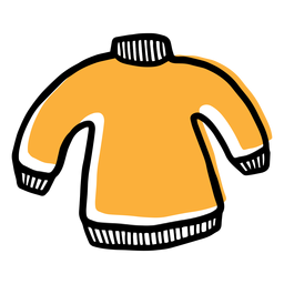 Yellow sweater icon
