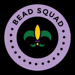 Bead Squad Karneval gefärbt