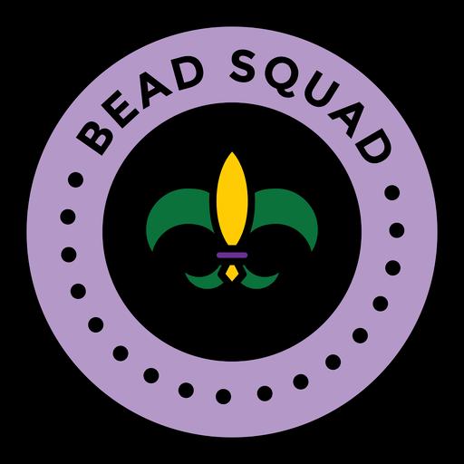 escuadrón de cuentas mardi gras de color Transparent PNG