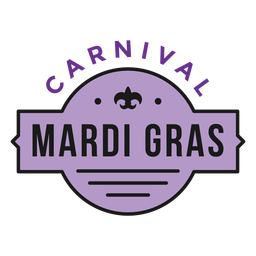 badge carnival mardi gras