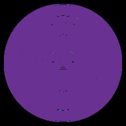bead squad purple badge