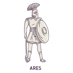 Ares mão desenhada cinza