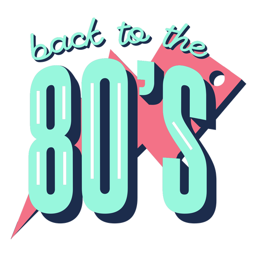 Back to 80s lettering