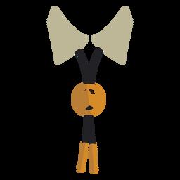 Icono de corbata de bolo