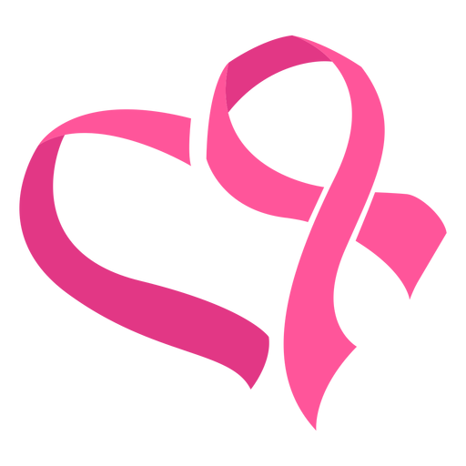 Breast Cancer Ribbon Heart Symbol Transparent Png Svg Vector File