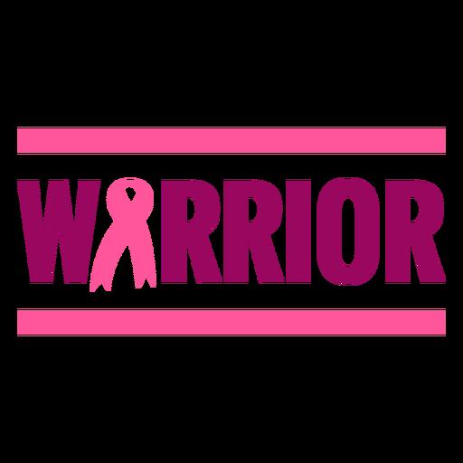 Bandeira de guerreiro de fita de câncer de mama Transparent PNG