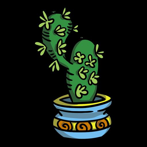 Maceta de plantas suculentas de cactus Transparent PNG