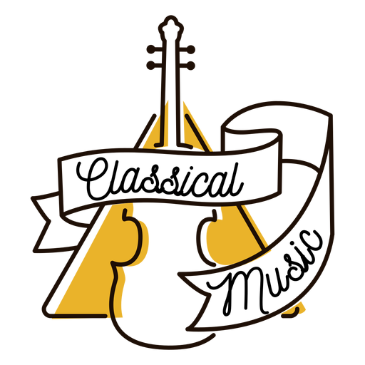 Símbolo de música clásica violonchelo