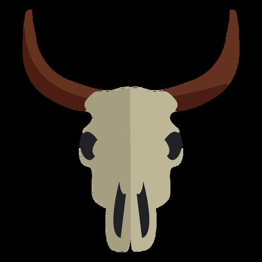 Icono de cr?neo de toro de vaca