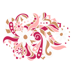 Composición orgánica floral