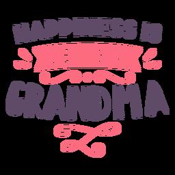 Felicidad siendo abuela letras