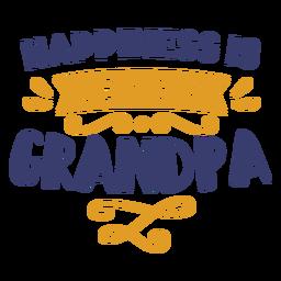 Felicidade sendo vovô letras