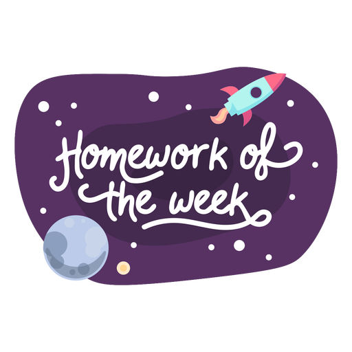 Icono de etiqueta de espacio de semana de tarea