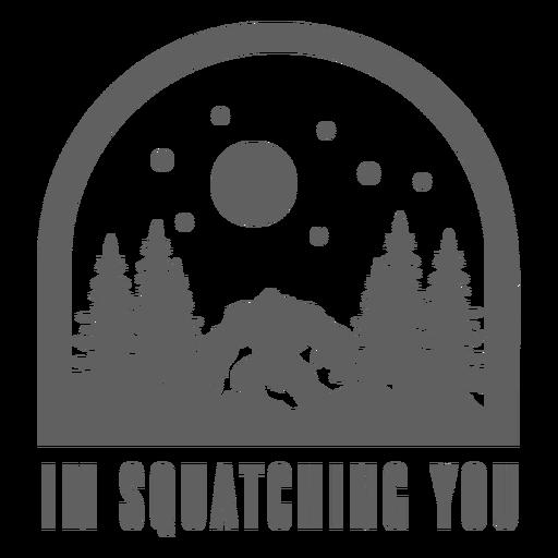 Te estoy pegando Bigfoot Transparent PNG