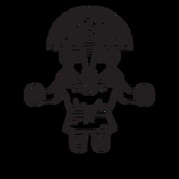 Esquema de Inti inca mtyhology
