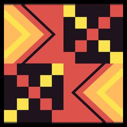 Composição do cubo Kente