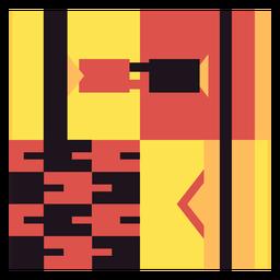 Composição do link Kente