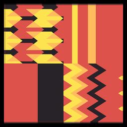 Composição das ondas Kente