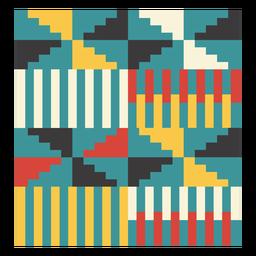 Composición del molino de viento Kente