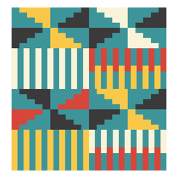 Kente windmill composition