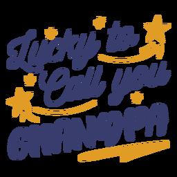 Lucky te llama abuelo letras