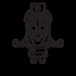 Esquema de la mitología inca de mamá ocllo
