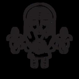 Esquema de la mitología inca de mamá sara