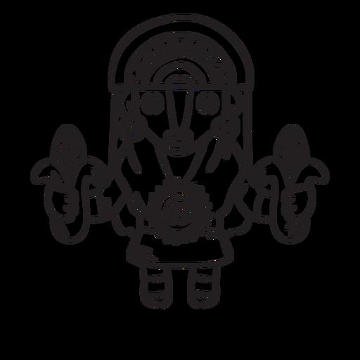 Esquema de la mitología inca de mamá sara Transparent PNG