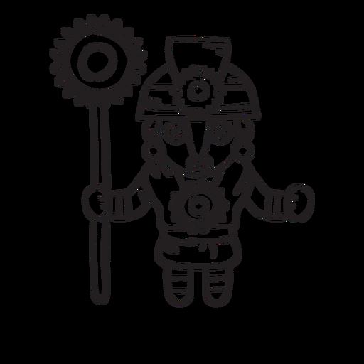 Esquema de la mitología inca manco capac Transparent PNG