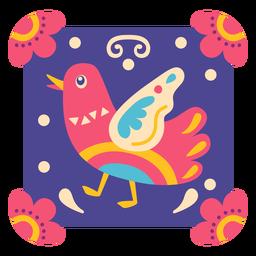 Símbolo de pollo mexicano
