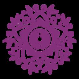 Hojas florales mexicanas papel picado