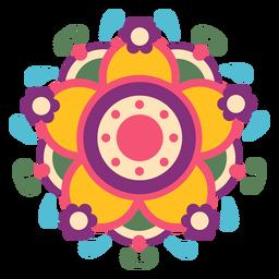 Mexican floral symbol