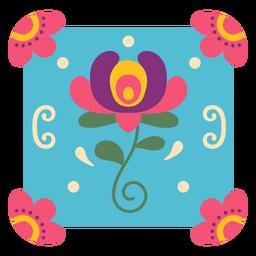 Mexican flower symbol