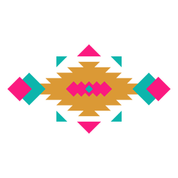 Mexican geometric horizontal composition