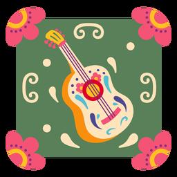 Mexican guitar symbol