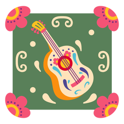 Símbolo de guitarra mexicana