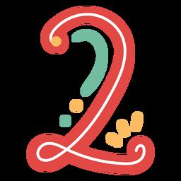 Letras de estilo mexicano número dos