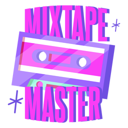 Mixtape master lettering