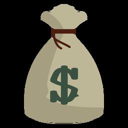 Icono de saco de dinero