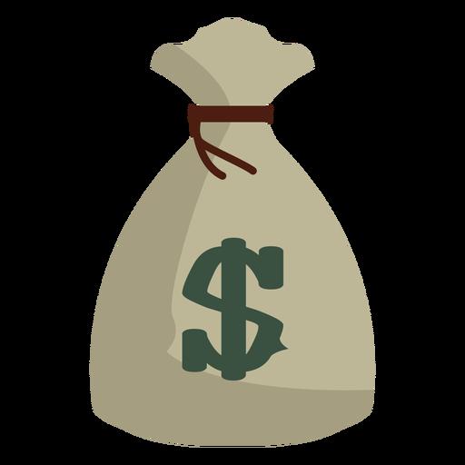 Ícone de saco de dinheiro Transparent PNG
