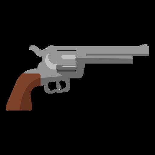 Icono de revólver Transparent PNG