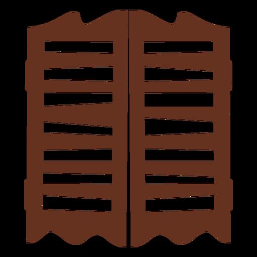 Icono de corte de puertas de salón Transparent PNG