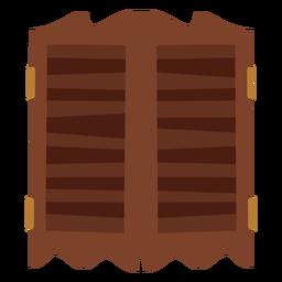 Icono de puertas de salón