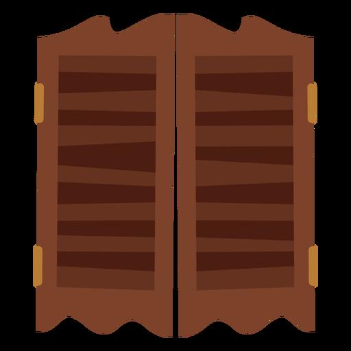 Icono de puertas de salón Transparent PNG