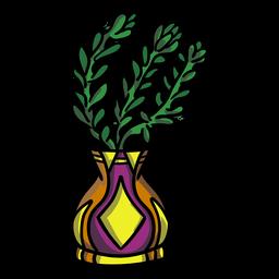 Florero de maceta suculenta